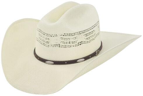 Justin 20X Bowie Straw Cowboy Hat, Natural, hi-res