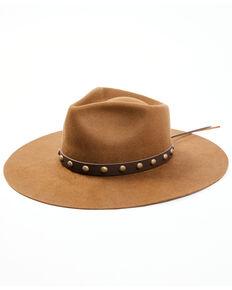 Idyllwind Women's Fools Gold Wool Felt Western Hat , Brown, hi-res