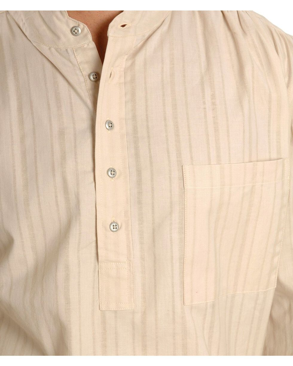 Rangewear by Scully Natural Old Fashioned Railroader Shirt, Natural, hi-res