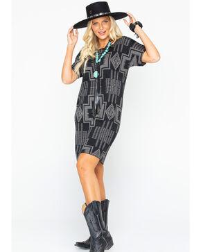Pendleton Women's Harding Sweater Dress, Black, hi-res