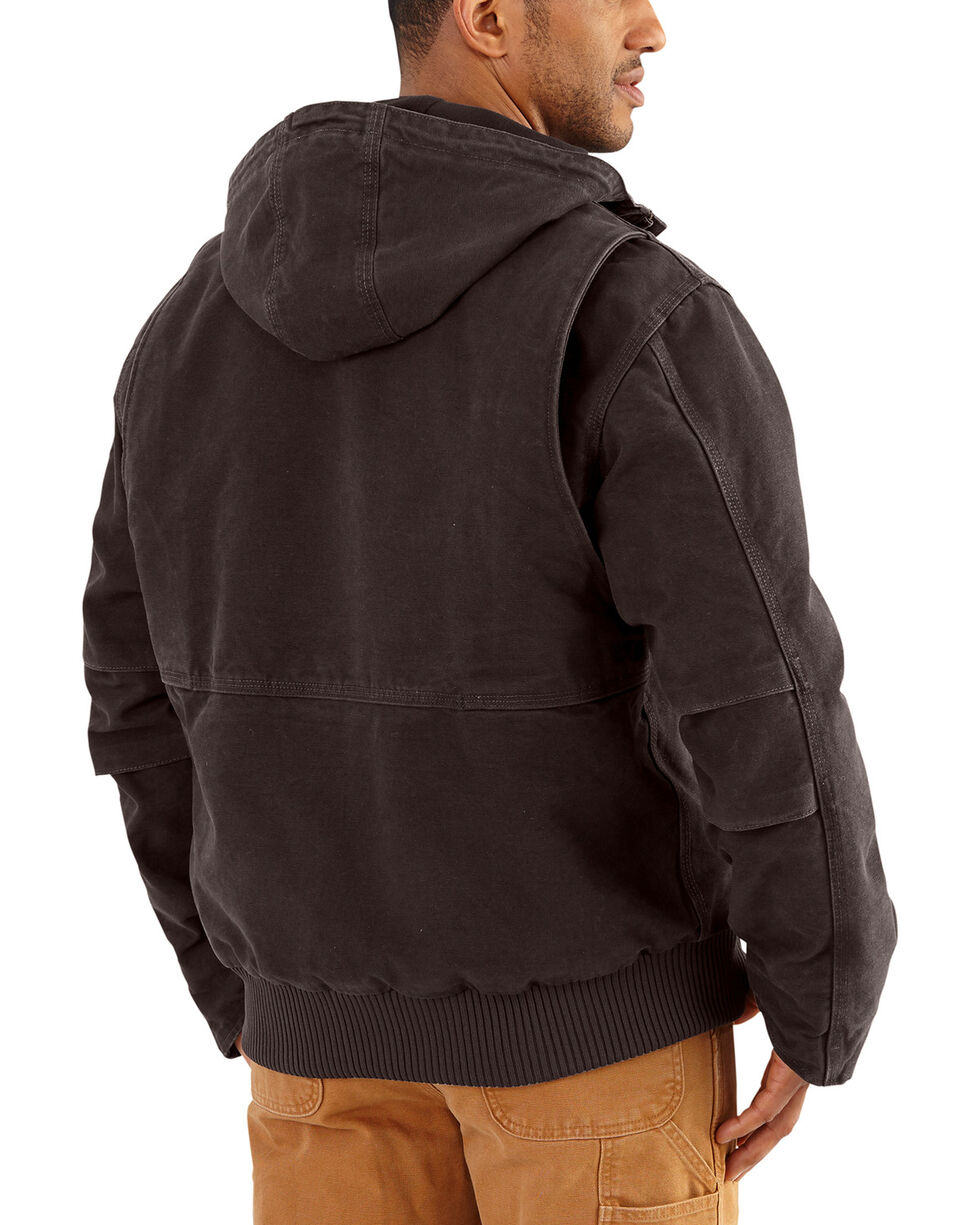 Carhartt Men's Dark Brown Full Swing Armstrong Active Jacket , Dark Brown, hi-res
