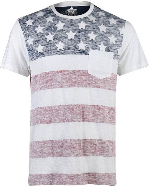 American Republic Boys' American Flag Tee - 4-7, White, hi-res