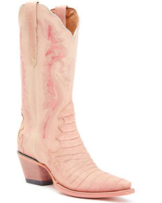Dan Post Women's Dusty Rose Western Boots - Snip Toe, Pink, hi-res