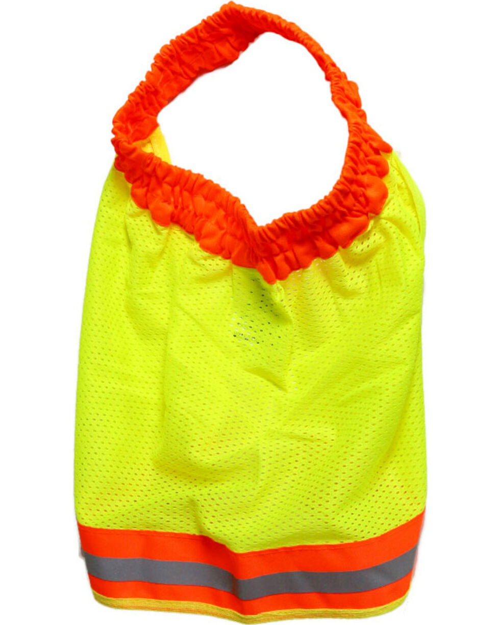 Radians High Visibility Flame Resistant Neck Shade, Bright Green, hi-res