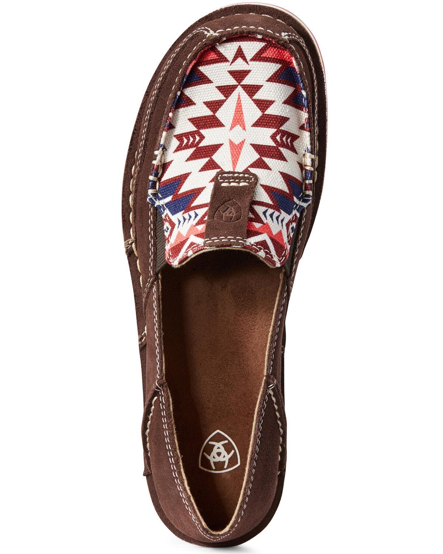 Aztec Cruiser Shoes - Moc Toe