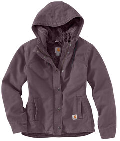 Carhartt Women's Sandstone Berkley Jacket, Plum, hi-res