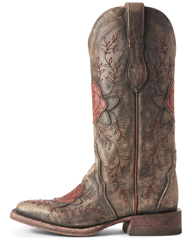 Ariat Women's Rosita London Fog Western Boots - Wide Square Toe, , hi-res