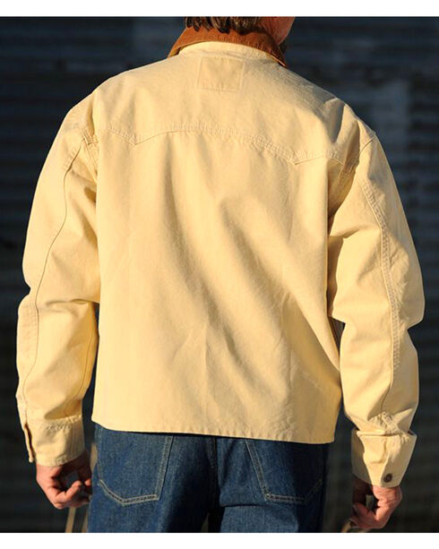 Schaefer Outfitter Men's Chamois Vintage Brush Jacket - 2XL, Lt Brown, hi-res