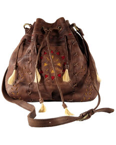 Kobler Leather Women's Toledo Crossbody Bag, Dark Brown, hi-res