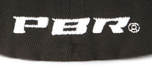 PBR Striped Flex Fit Cap, Black, hi-res