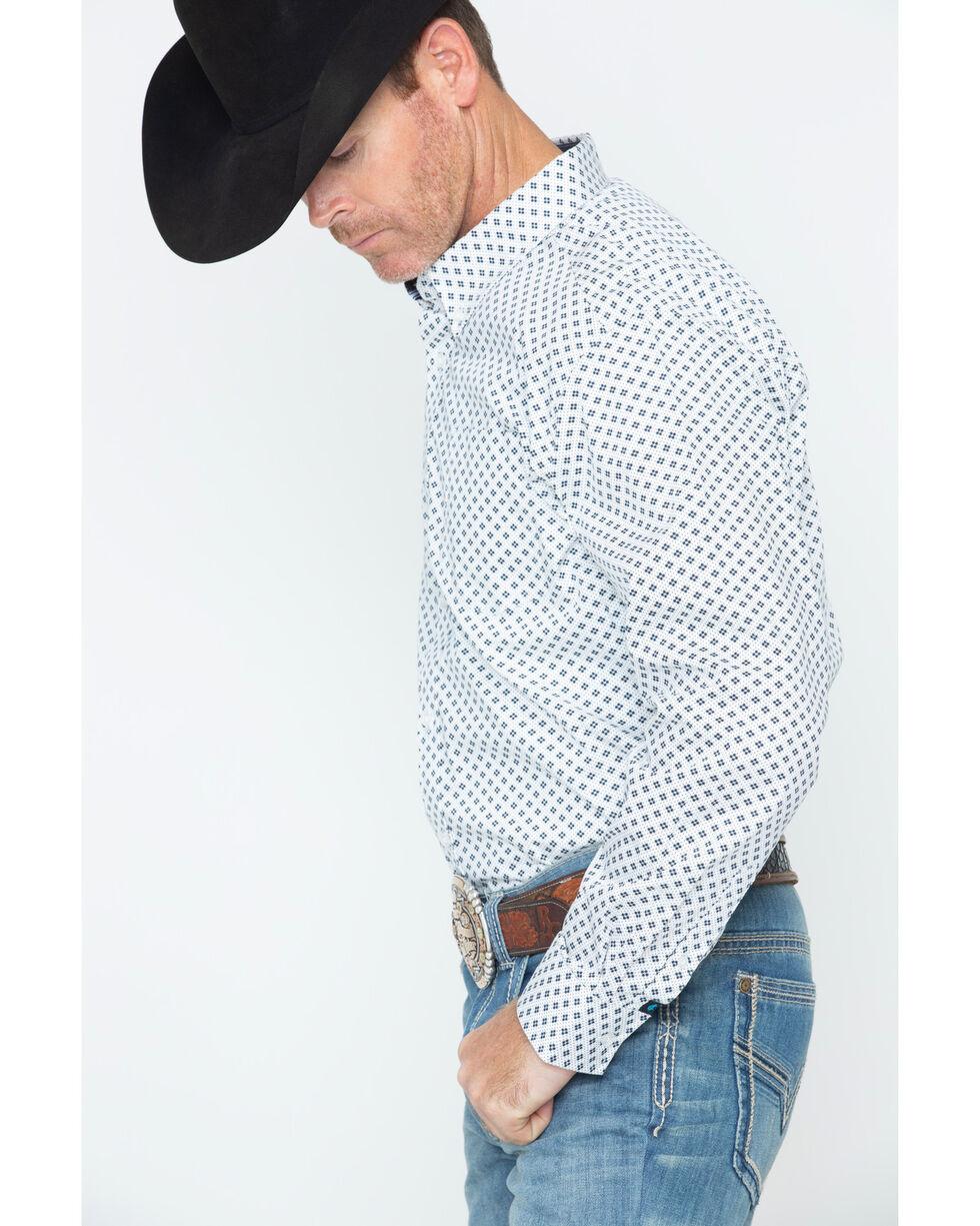 Cody James Men's Jaggar White Long Sleeve Shirt, White, hi-res