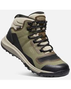 Keen Women's Tempo Flex Waterproof Hiking Boots - Soft Toe, Olive, hi-res