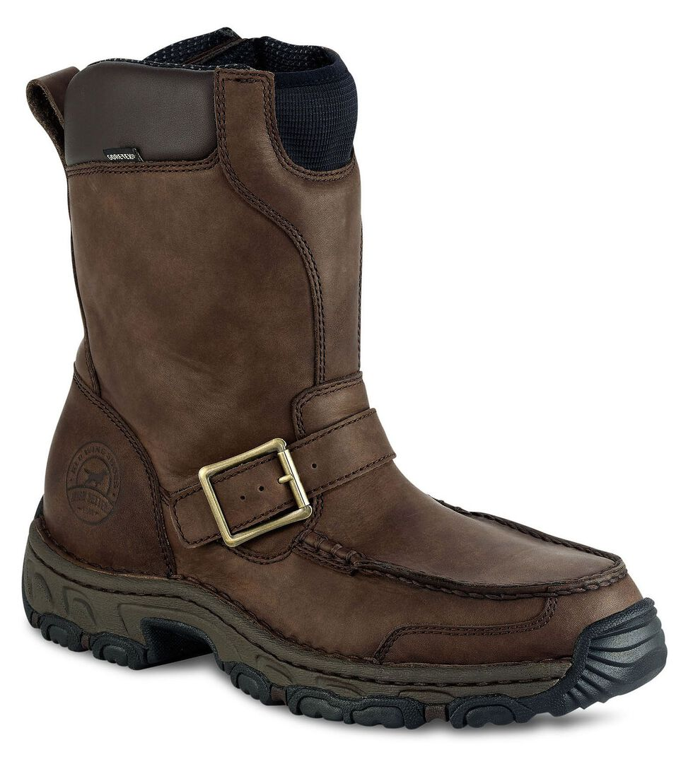 Irish Setter by Red Wing Shoes Men's Havoc Waterproof Side Zip Work Boots - Round Toe, Brown, hi-res