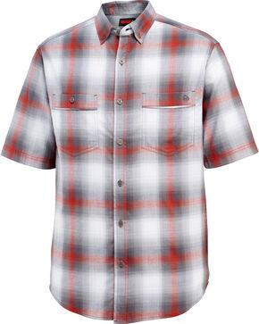 Wolverine Men's Red Springsport Short Sleeve Shirt , Red, hi-res