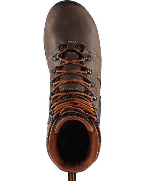 "Danner Men's Vicious 8"" Work Boots , Brown, hi-res"