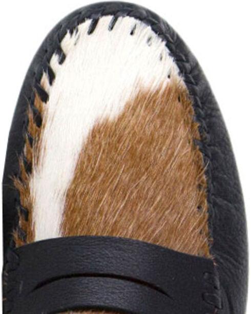 Uwezo Women's Cowhide Mule Loafers - Moc Toe, Multi, hi-res