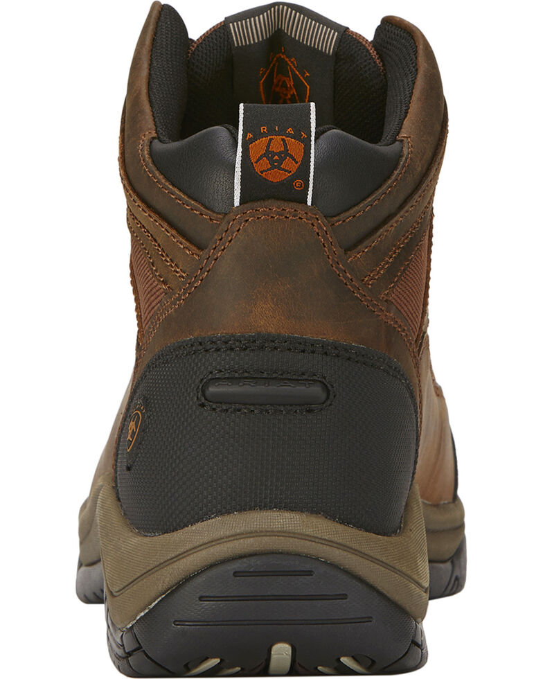 Ariat Terrain Hiking Boots - Steel Toe, Brown, hi-res
