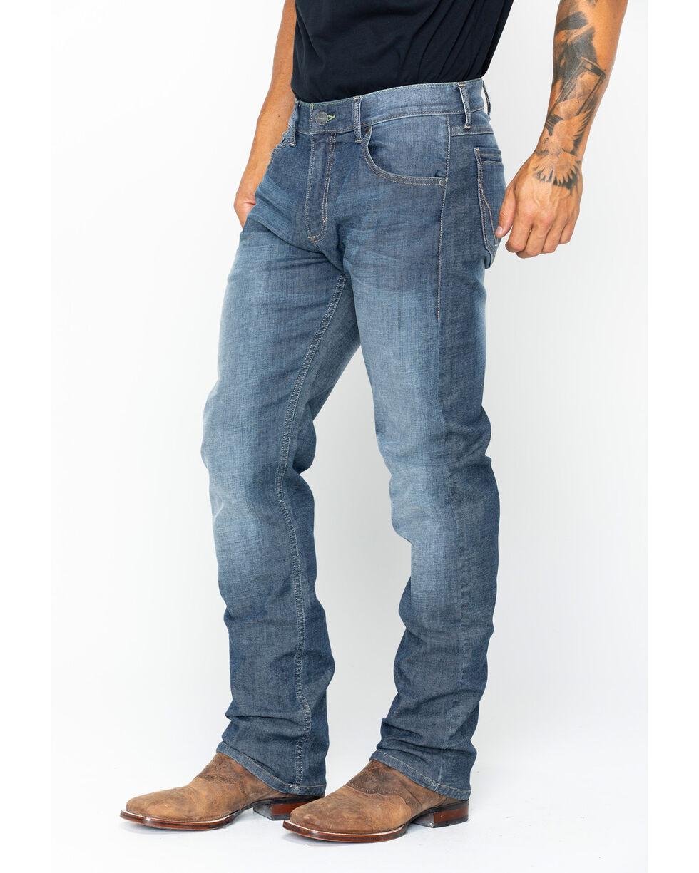 Wrangler Retro Men's Slim Fit Stretch Straight Leg Jeans, Indigo, hi-res