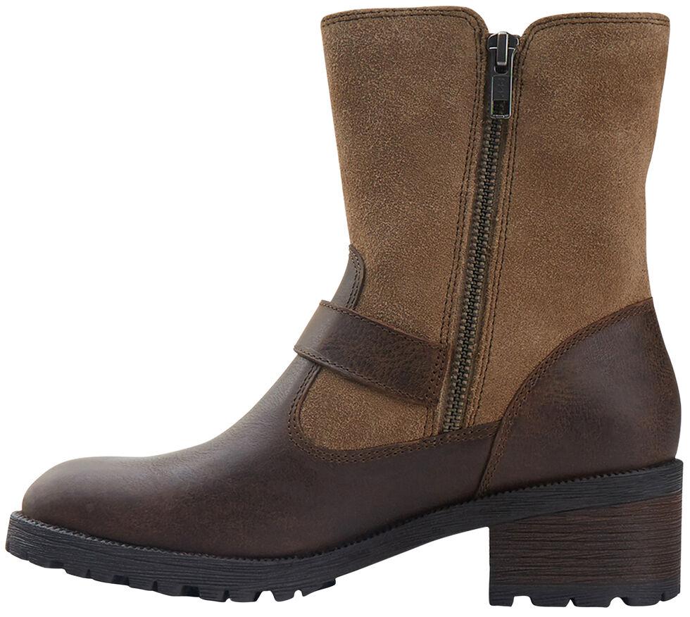 Eastland Women's Bomber Brown Suede Belmont Boots , , hi-res