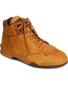 Roper HorseShoes, Amber Brn, hi-res