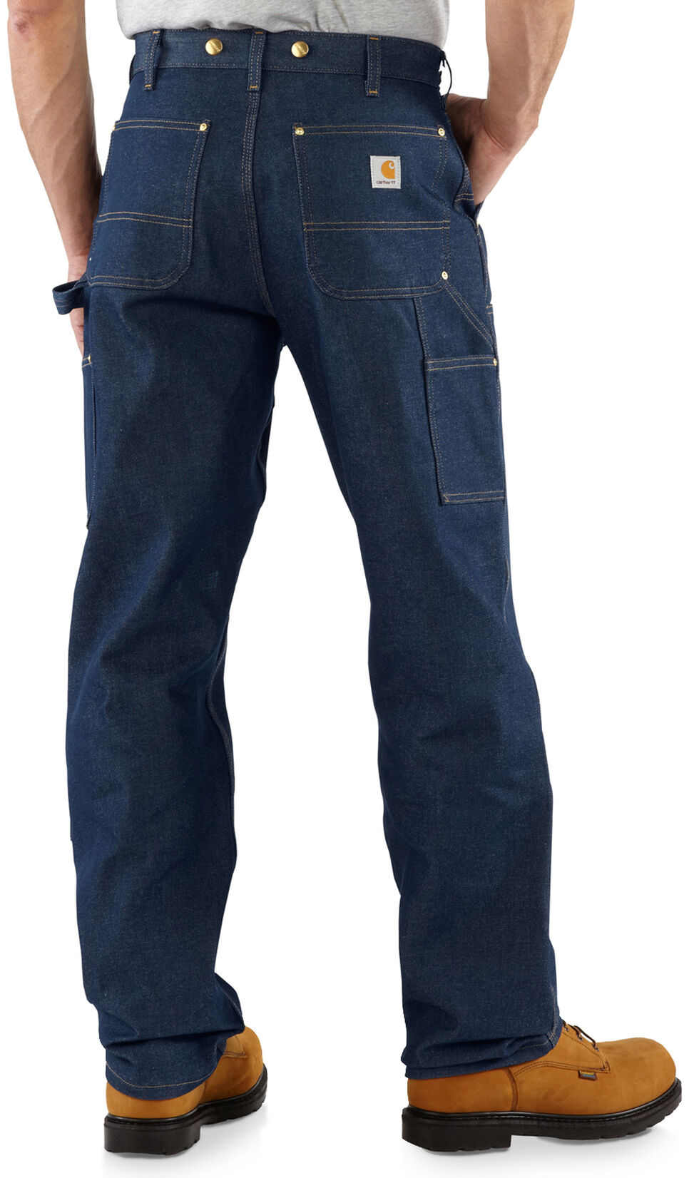 Carhartt Double-Front Logger Dungaree Jeans, , hi-res