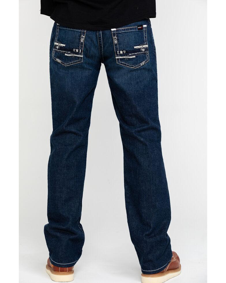 Ariat Men's M5 FR Durastretch Platinum Slim Straight Work Jeans , Indigo, hi-res