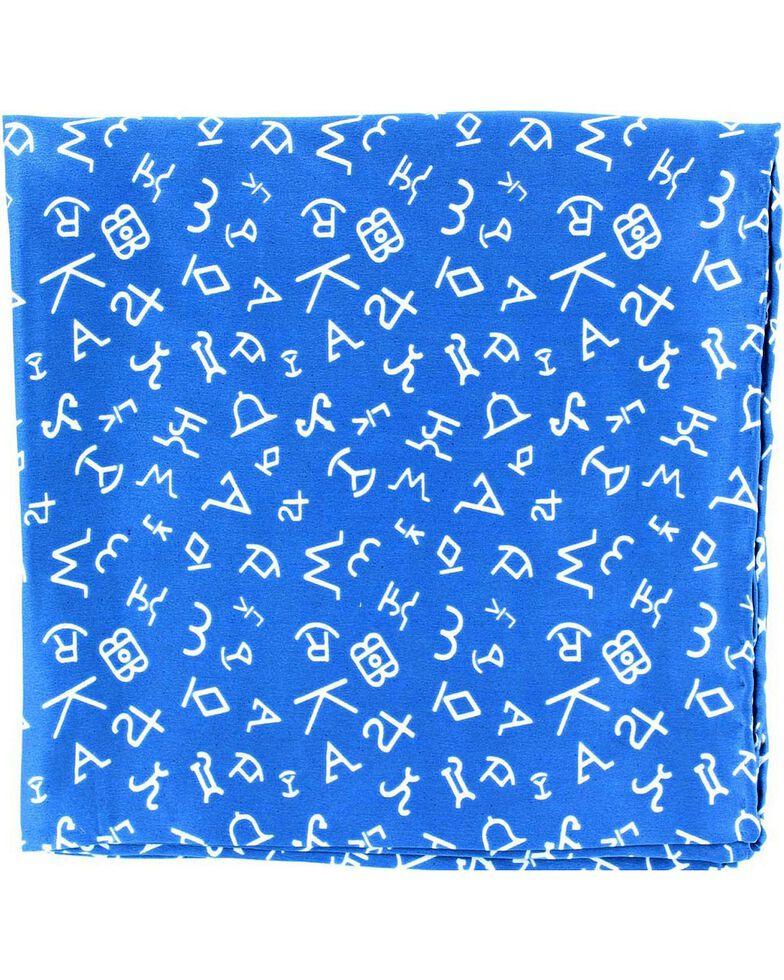 Branding Design Silk Wild Rag, Blue, hi-res