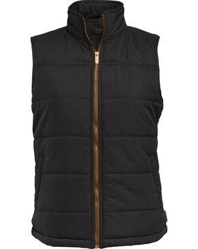 Wolverine Women's Parker Quilted Vest, Black, hi-res