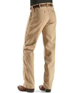 Wrangler Jeans - 13MWZ Original Fit Prewashed Colors - Tall, Tan, hi-res