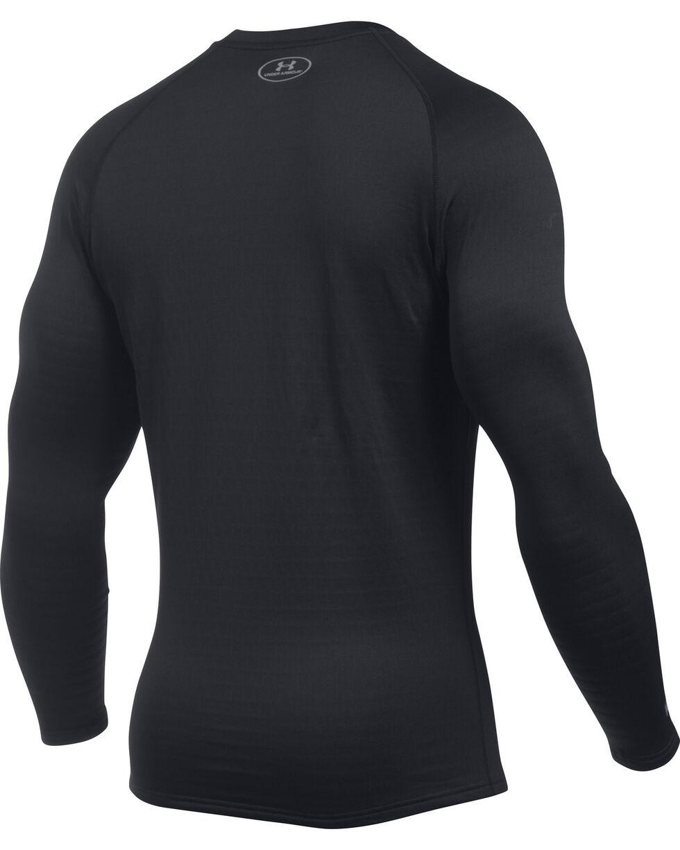Under Armour Men's Base 4.0 Crew Shirt , Black, hi-res