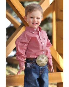 f86bef2c2 Cinch Infant Boys Geo Print Long Sleeve Western Shirt , Multi, hi-res