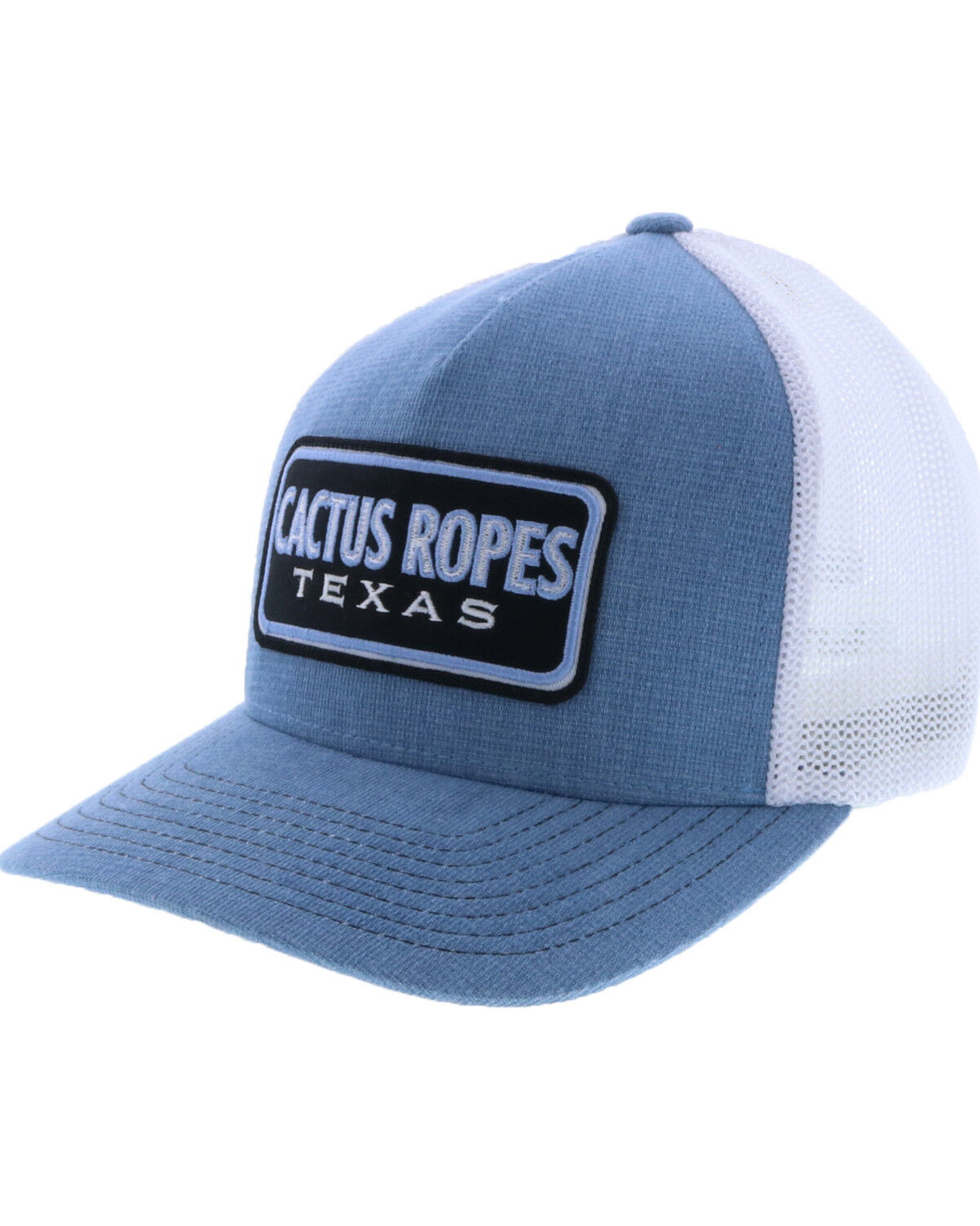 ffa0f8a1 ... amazon hooey mens blue white cactus ropes patch trucker cap blue hi res  39faa c73a5