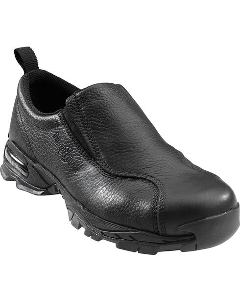 Nautilus Women's ESD Slip-On Work Shoes - Steel Toe, Black, hi-res