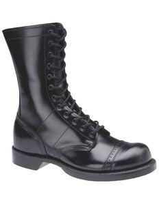 Corcoran Women's Original Black Jump Boots - Round Toe, Black, hi-res