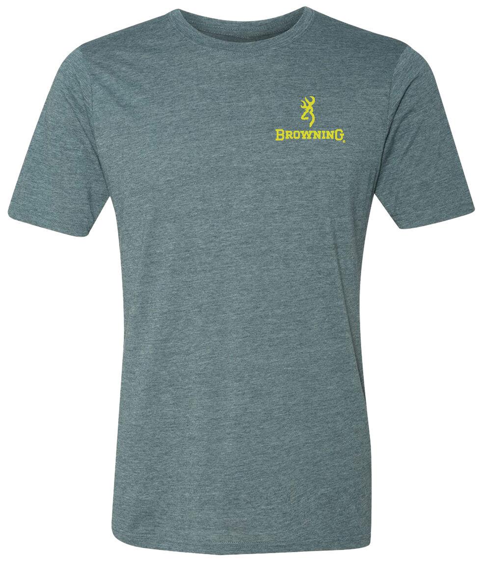 Browning Men's Bolt X Short Sleeve Tee, Indigo, hi-res