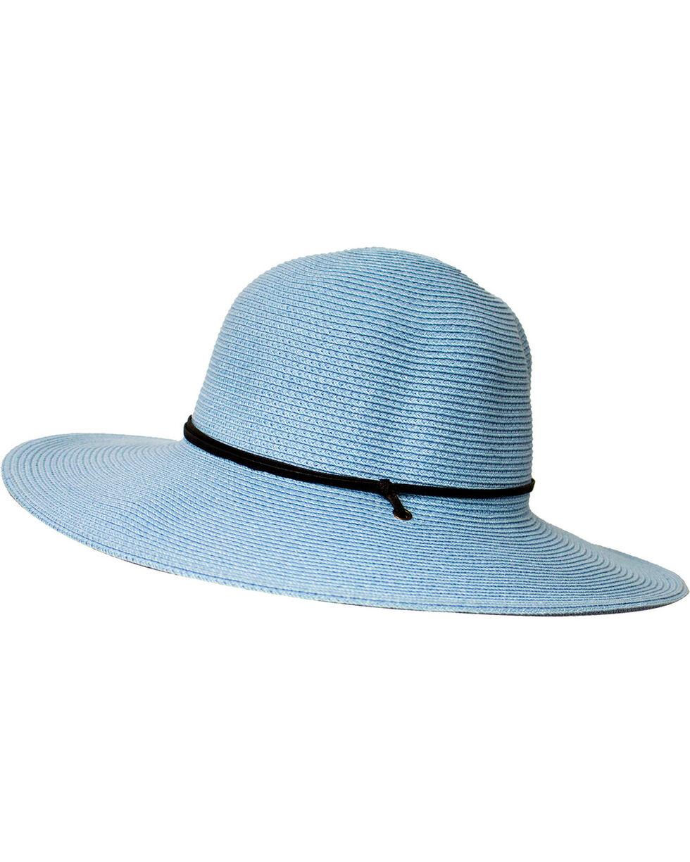 Peter Grimm Women's Blue Coralia Sun Hat , Blue, hi-res