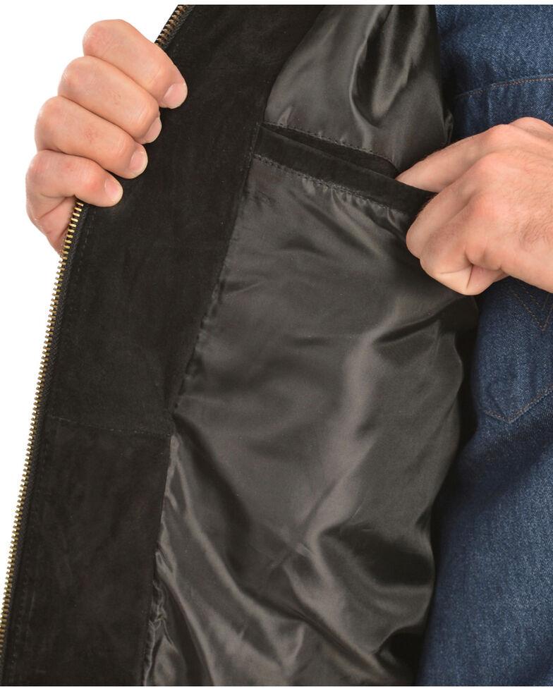 Scully Boar Suede Rodeo Jacket, Black, hi-res