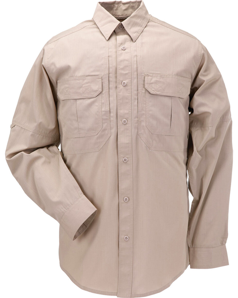 5.11 Tactical Taclite Pro Long Sleeve Shirt, Khaki, hi-res