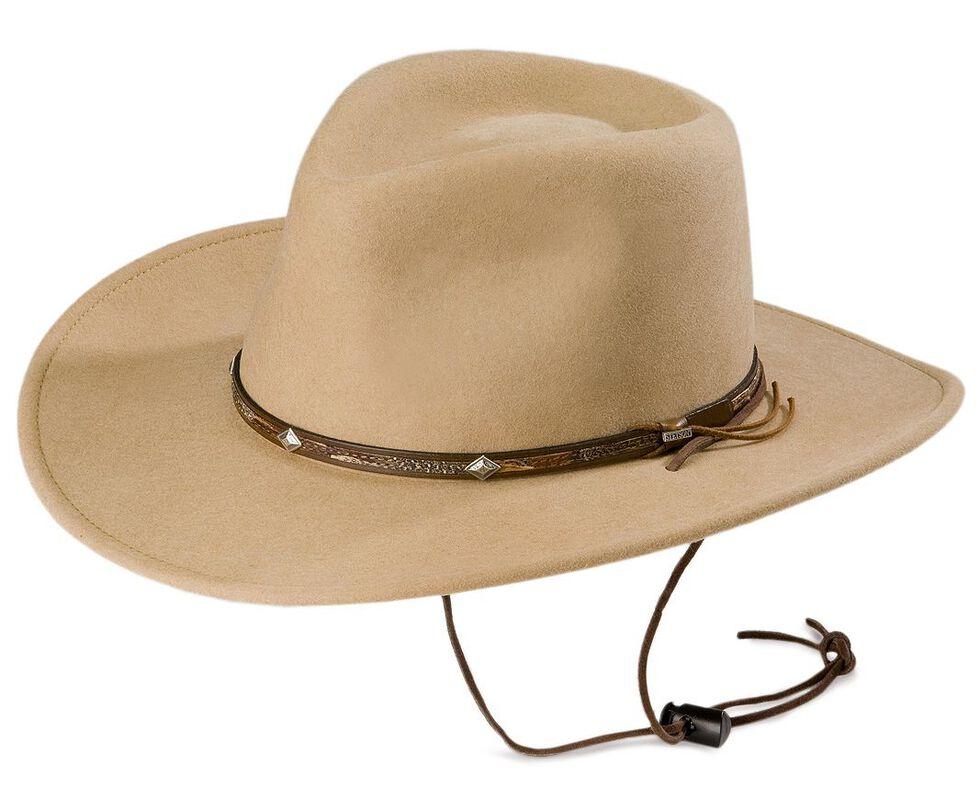 Stetson Mountain View Crushable Wool Felt Hat  ed2c4fb0f42
