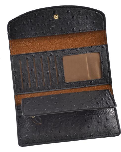 Wear N.E. Wear Women's Ostrich Print Wallet, , hi-res