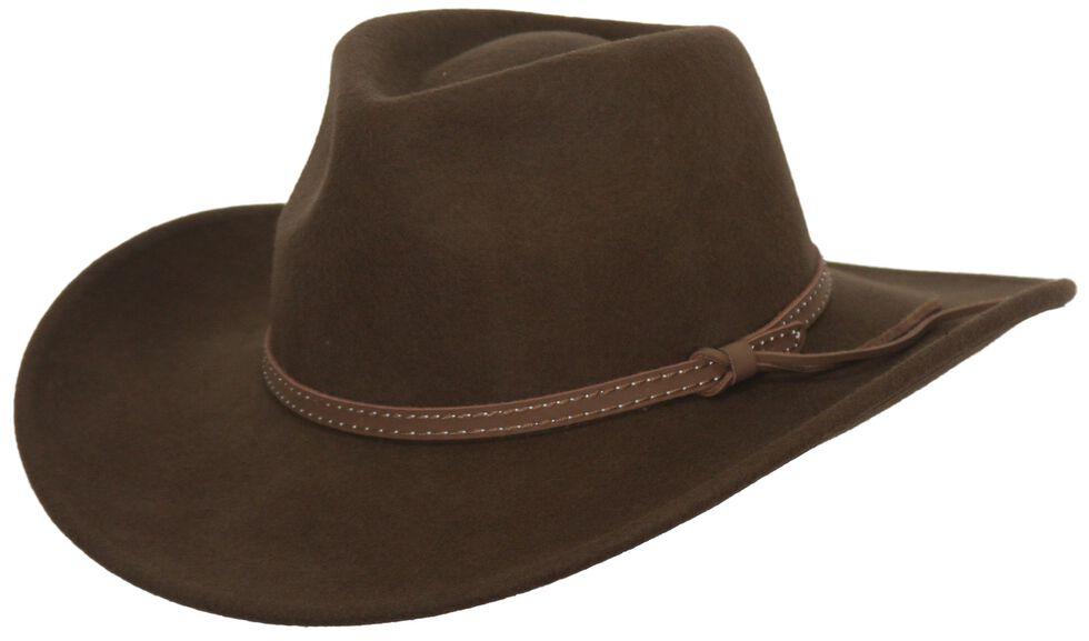 Outback Trading Co. Cooper River Crushable Australian Wool Hat ... 0fbd606207b