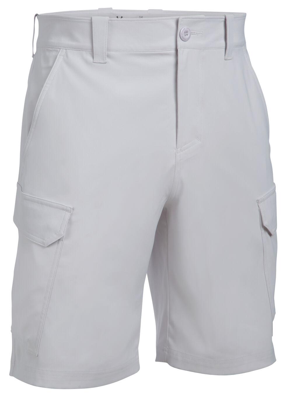 Under Armour Men's Fish Hunter Cargo Shorts, Grey, hi-res