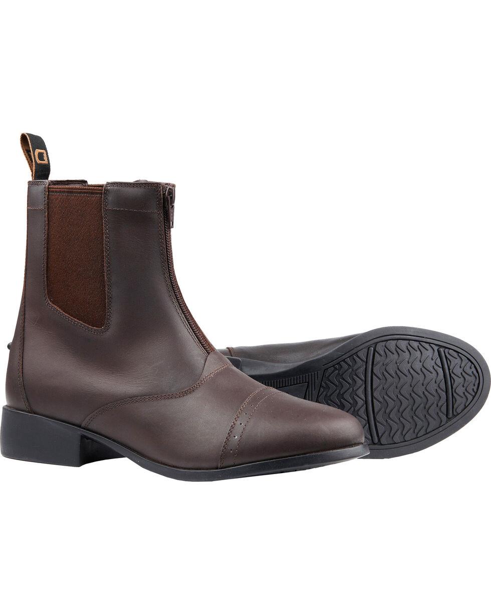 Dublin Kids' Elevation Zip Paddock Boots, Brown, hi-res