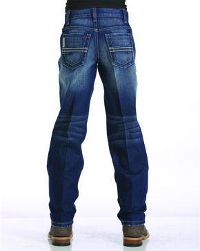 Cinch Boys' Indigo (4-7) Sawyer Slim Fit Jeans - Straight Leg , Indigo, hi-res
