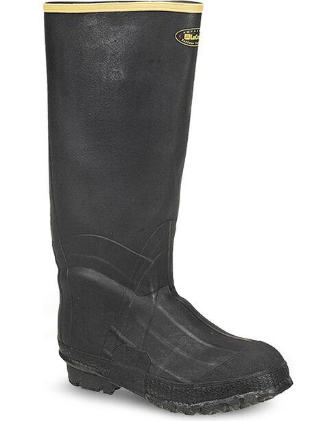 LaCrosse Men's Zxt Knee Work Boots - Round Toe , Black, hi-res