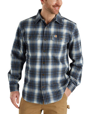 Carhartt Men's Hubbard Plaid Long Sleeve Shirt , , hi-res
