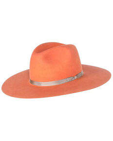 Rodeo King K9 Coral Tracker Fur Felt Hat , Coral, hi-res