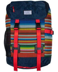 HOOey Topper Multi color Serape Stripe Backpack, Multi, hi-res