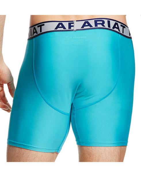 Ariat Men's Turquoise AriatTEK UnderTEK Sport Brief, Turquoise, hi-res