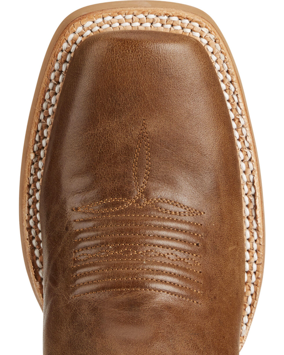 Ariat Women's Callahan Brown Cowgirl Boots - Square Toe, , hi-res